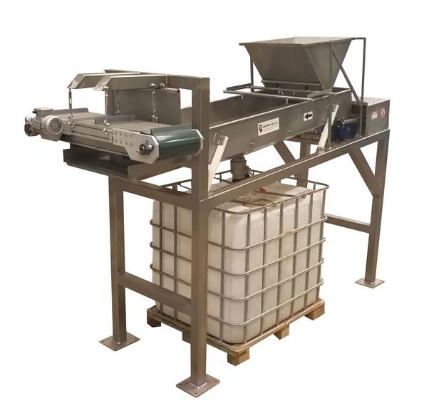 Clasificadora Calibres con sistema separación líquidos y metales