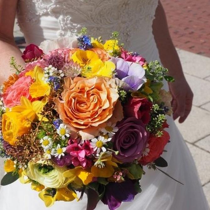 Cómo elegir el ramo de novia