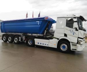 Camiones especiales para transporte de tierrra