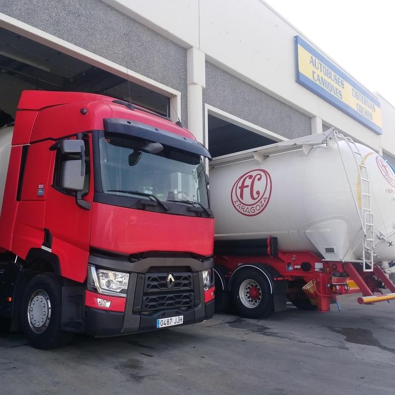 Lavado camiones frigoríficos y cisternas alimentarias: Servicios de Lavadero ACCC Huesca