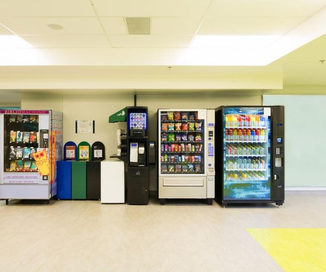 Algunas averías de las máquinas vending