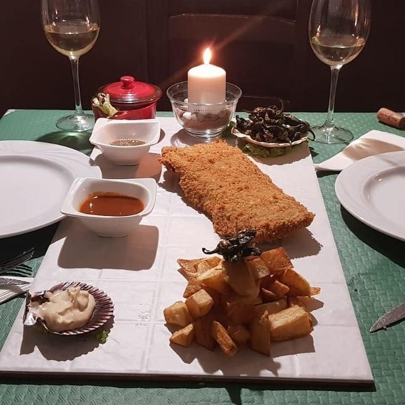 Cachopo Raffaello: Nuestros platos de La Cantina Sixtina