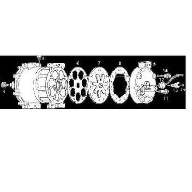 Catálogo Despiece Compresor: Productos y  catalogos pdf de Auto-Radiadores José