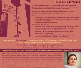 Taller Residencial Sexualidad, Sensualidad y Ternura con Mireia Darder2021