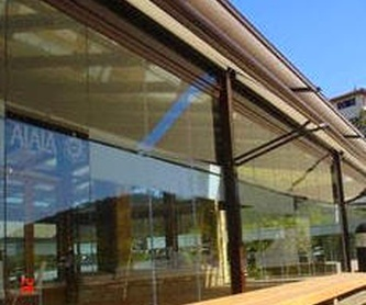 Toldo vertical cremallera screen: Productos de Doble-A