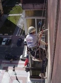Trabajos verticales en Colmenar Viejo