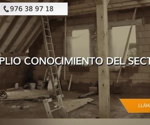 Rehabilitación de fachadas en Zaragoza: Montajes Tecu