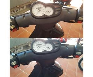 Restauración de manillar de scooter