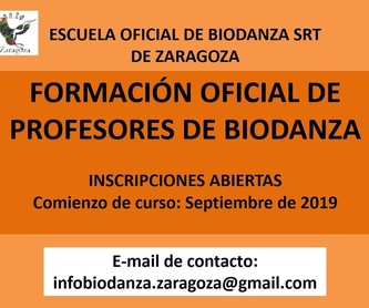 Biodanza in Clay 2019: CURSOS de Augusto Madalena