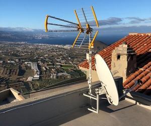 Antenas en Tenerife