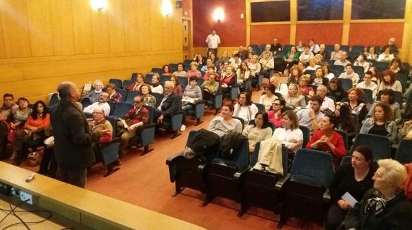 Charla sobre Biodanza en Ibercaja en Logroño. Día Internacional de Biodanza 2017