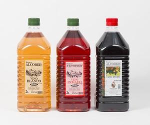 VInos envasados en garrafas de diversas capacidades