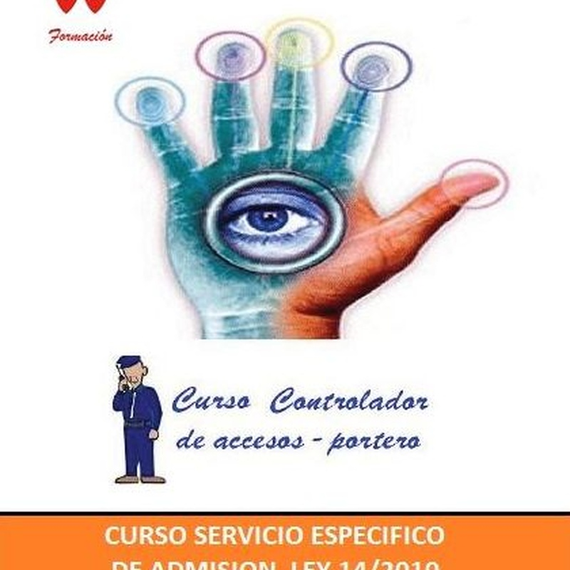 CURSO SERVICIO ESPECÍFICO DE ADMISIÓN DE JJ FORMACIÓN.: Cursos de CENTRO DE ENSEÑANZA J.J. FORMACIÓN S.L.
