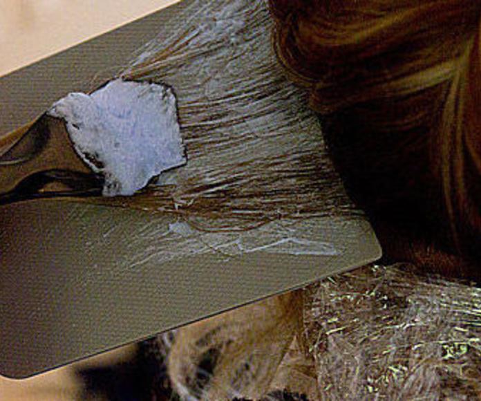 Mechas : Tratamientos  de Peluquería y estética Bella