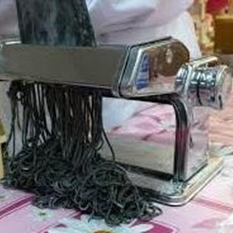 Spaghetti fresco negro