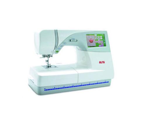 Máquina de coser y bordar Alfa modelo 4550