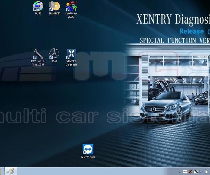 xentry 2019 pantalla escritorio star diagnosis mercedes benz