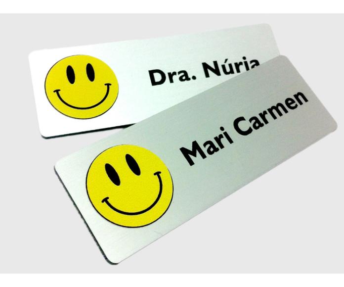 Placas identificación: Servicios de Gravats a l'Instant, S. C. P.