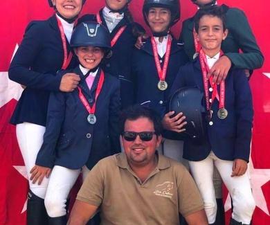 Campeones de ponis de Completo de Madrid