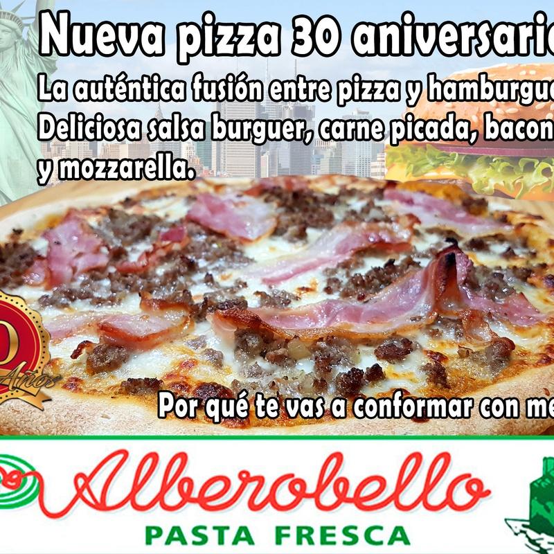 Pizza 30 aniversario