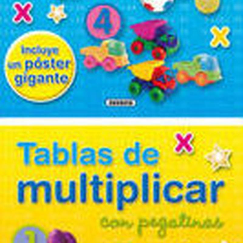 AÑADIR TABLAS DE MULTIPLICAR (INCLUYE PEGATINAS Y POSTER)