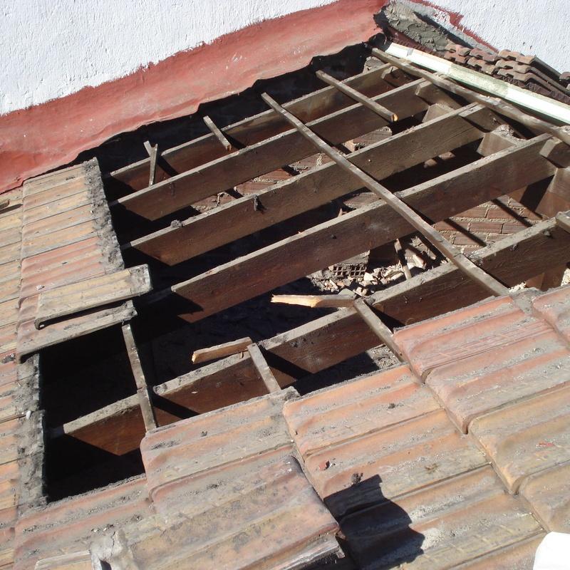 C/ Divino Vallés, 31. Madrid. Recuperación teja plana (en ejecución)