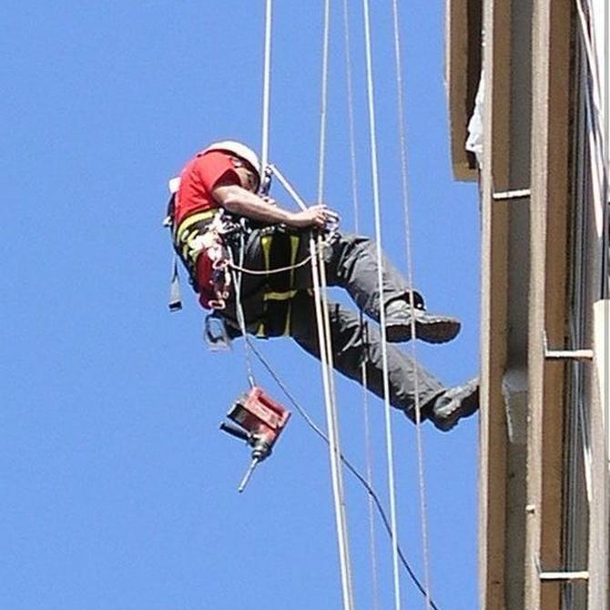 La seguridad en los trabajos verticales (II)
