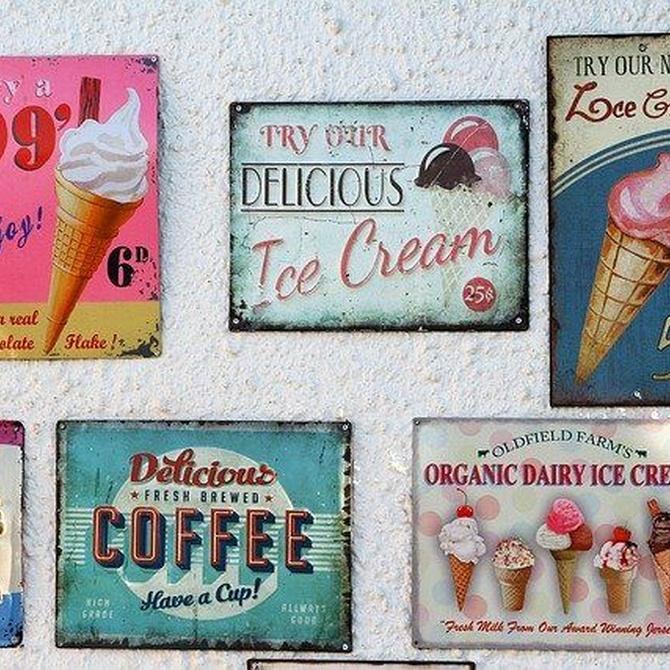 La influencia de los colores en un cartel publicitario