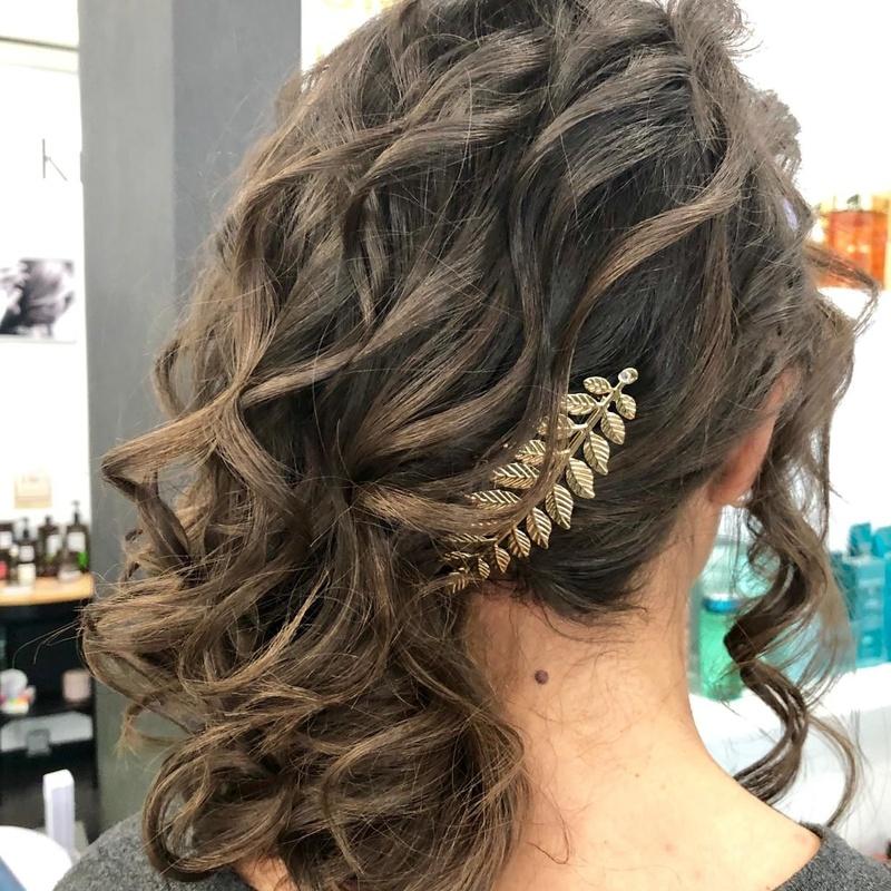 Peinados para eventos, comuniones y bodas