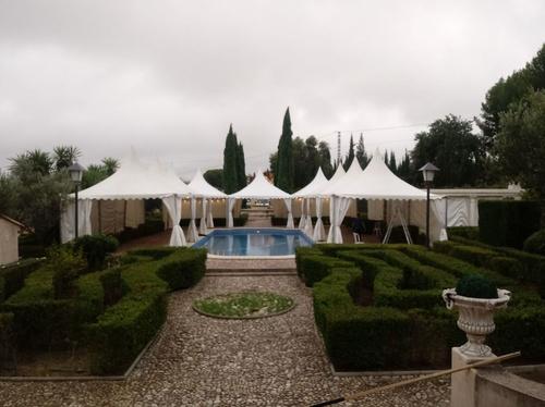 Alquiler de carpas para bodas, eventos en Alicante