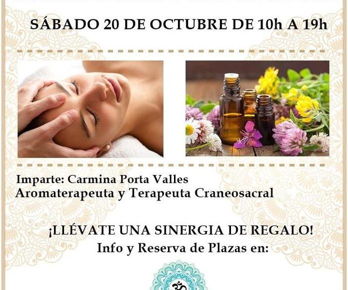 Taller Intensivo Aromaterapia y CraneoSacral en Alicante, Shambhala.