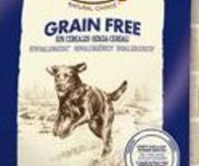 Alimentación natural para perros sin cereales Nutro Grain free