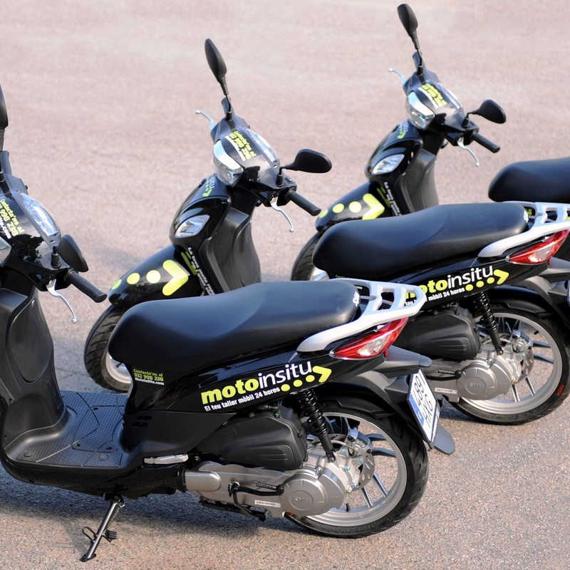 Motos de sustitución: Nuestros servicios de Motoinsitu