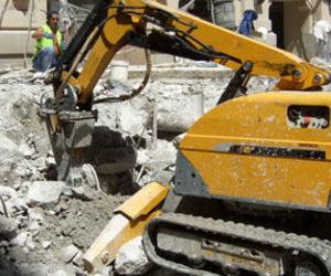 Demoliciones con robot en Madrid
