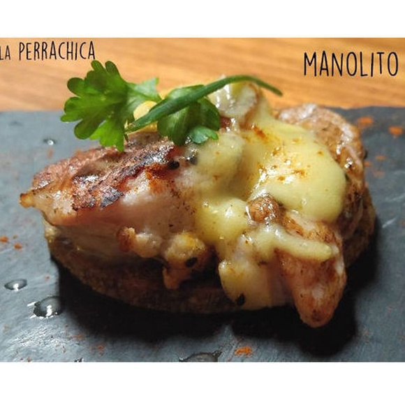 Tapa de solomillo de cerdo: Carta de Restaurante La Perrachica