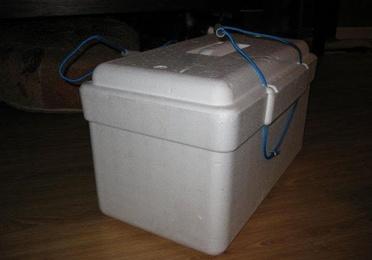 Caja de Poliespan