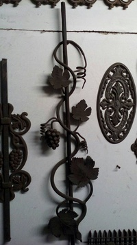 Rejas tipo racimo de uva en Vitoria