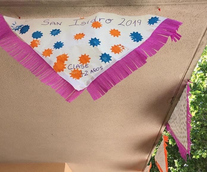 """San Isidro en la escuela infantil """" Los Castillos """""""