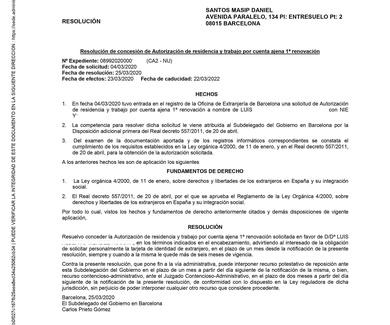 ABOGADO EXTRANJERIA BARCELONA. La OFICINA DE EXTRANJERIA TRABAJA CON EL COVID19