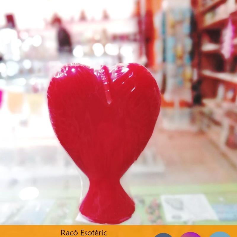 Vela corazón: Cursos y productos de Racó Esoteric Font de mi Salut