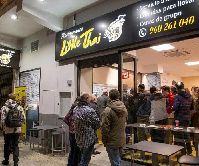 Inauguración del nuevo Little Thai de Blasco Ibáñez