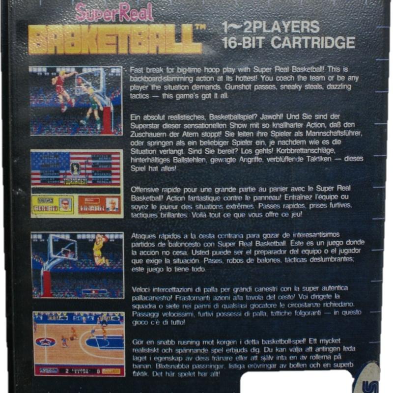 MEGA DRIVE SUPER REAL BABKETBALL: Compra y Venta de Ocasiones La Moneta