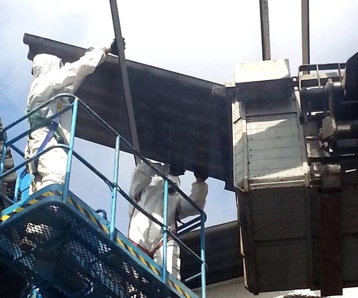 Desmantelamiento de instalaciones de amianto: gestión integral