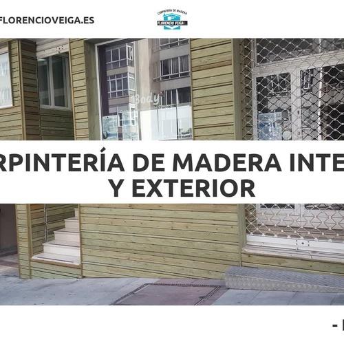muebles de madera Pontevedra | Carpintería Florencio Veiga