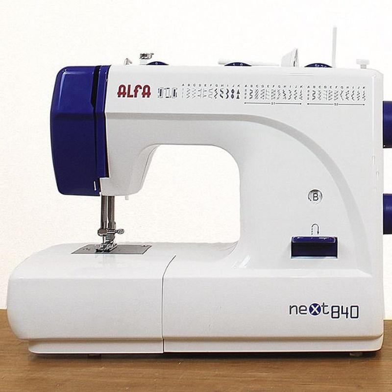 Alfa Next 840: Productos de Maquinas de Coser - Servicio técnico y repuestos