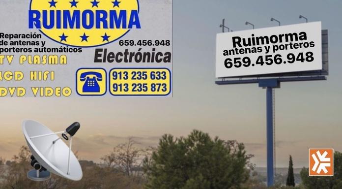 Reparación, instalación y conservación de antenas en Plaza de Castilla