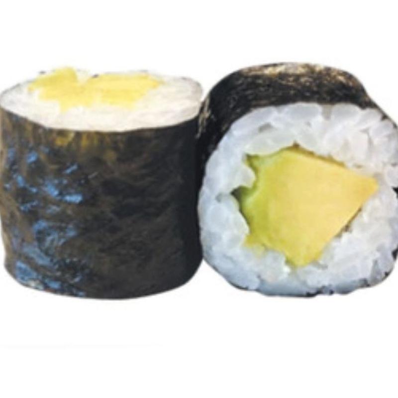 136.MAKI DE AGUACATE 6 Piezas: Carta y menús de Yoshino