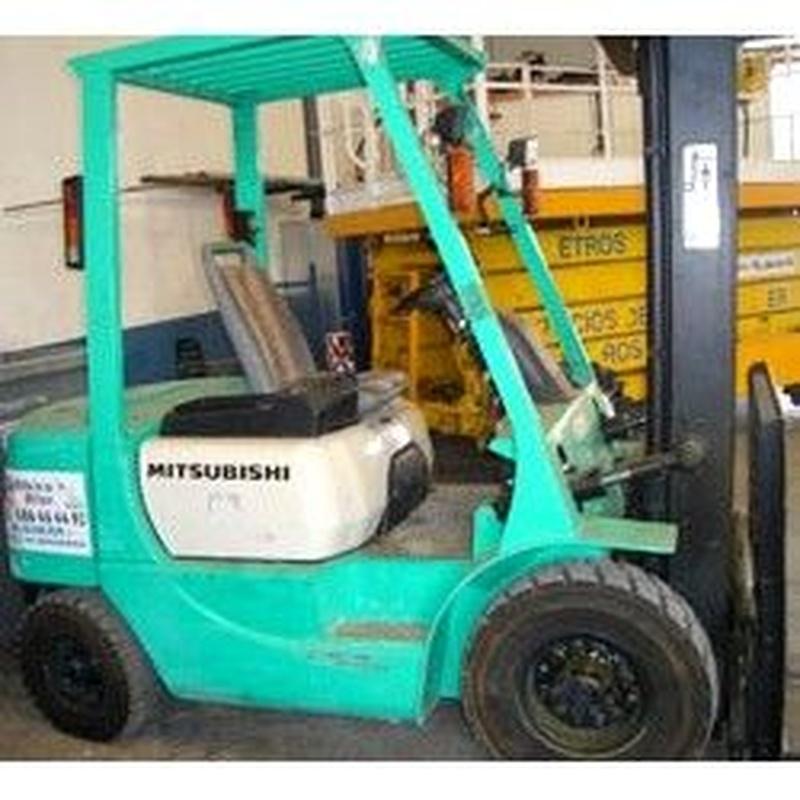 Carretilla diesel: Maquinaria alquiler y venta de Alkira Alor
