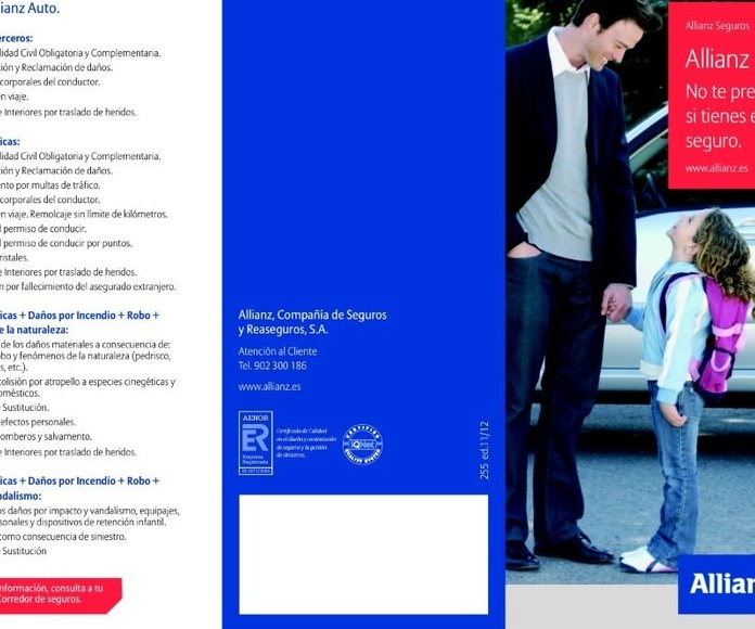 Allianz Auto: Catálogo de Allianz Seguros - Antonio Martínez Ballester