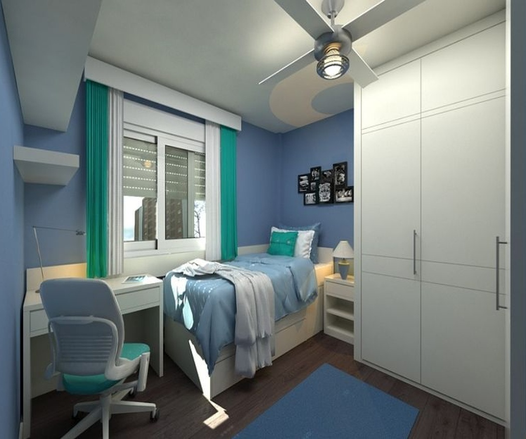 Muebles juveniles a medida para un buen espacio de estudio